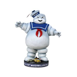 STAY PUFT FIGURINE HEAD KNOCKER SOS FANTÔMES NECA 18 CM (1) 634482319512 kingdom-figurine.fr