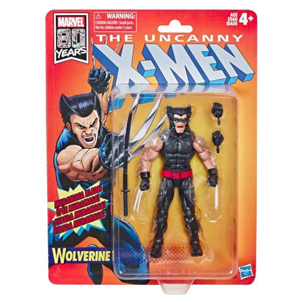 WOLVERINE FIGURINE RETRO UNCANNY X-MEN WAVE 1 MARVEL LEGENDS HASBRO 15 CM (2) 5010993598212 kingdom-figurine.fr