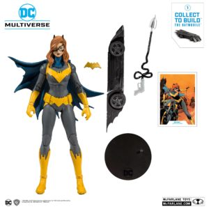BATGIRL FIGURINE DC REBIRTH ART OF THE CRIME McFARLANE TOYS 18 CM (1) 787926154016 kingdom-figurine.fr