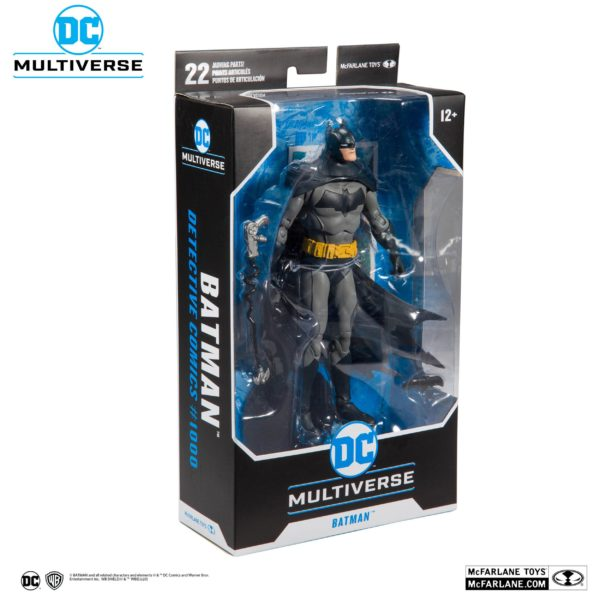 BATMAN DETECTIVE COMICS #1000 FIGURINE DC REBIRTH McFARLANE TOYS 18 CM (7) 787926150018 kingdom-figurine.fr