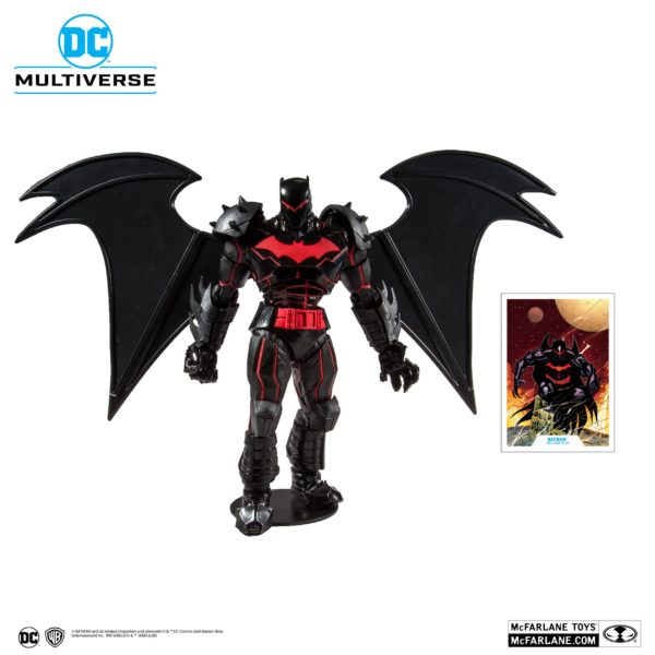 BATMAN HELLBAT SUIT FIGURINE BATMAN & ROBIN McFARLANE TOYS 18 CM (1bis) 787926156010 kingdom-figurine.fr