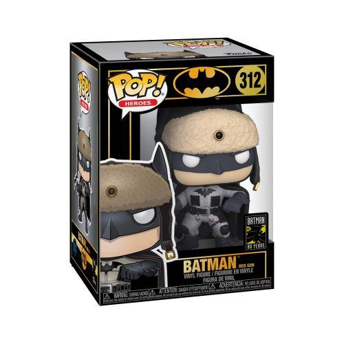 BATMAN RED SON FIGURINE BATMAN 80TH POP HEROES 312 FUNKO (3) 889698372619 kingdom-figurine.fr