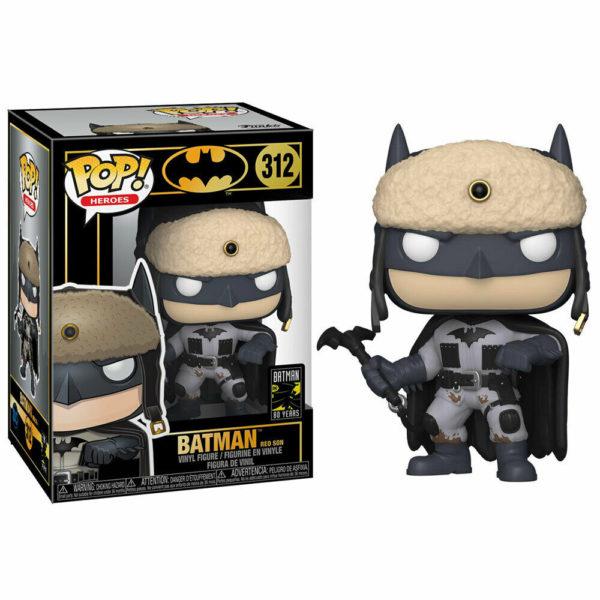 BATMAN RED SON FIGURINE BATMAN 80TH POP HEROES 312 FUNKO 889698372619 kingdom-figurine.fr