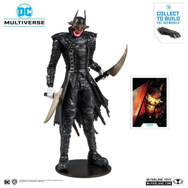 BATMAN WHO LAUGHT FIGURINE BATMAN DARK NIGHTS METAL McFARLANE TOYS 18 CM (1bis) 787926154030 kingdom-figurine.fr
