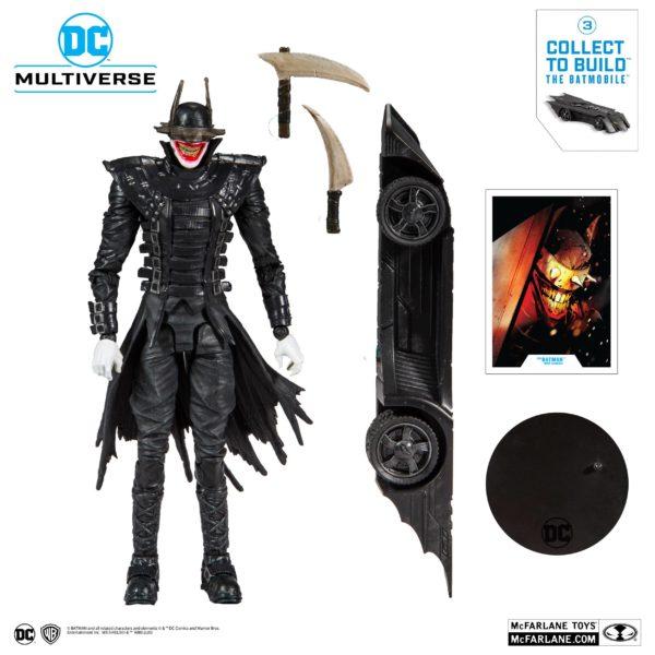BATMAN WHO LAUGHT FIGURINE BATMAN DARK NIGHTS METAL McFARLANE TOYS 18 CM (2) 787926154030 kingdom-figurine.fr