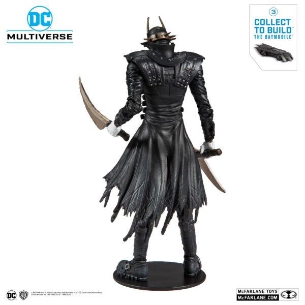 BATMAN WHO LAUGHT FIGURINE BATMAN DARK NIGHTS METAL McFARLANE TOYS 18 CM (4) 787926154030 kingdom-figurine.fr