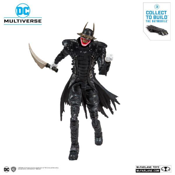 BATMAN WHO LAUGHT FIGURINE BATMAN DARK NIGHTS METAL McFARLANE TOYS 18 CM (6) 787926154030 kingdom-figurine.fr