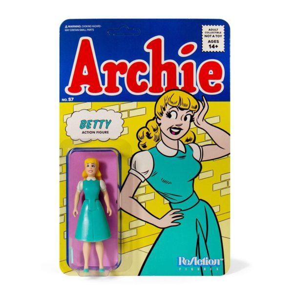 BETTY FIGURINE ARCHIE COMICS WAVE 1 ReACTION SUPER7 10 CM 811169038687 kingdom-figurine.fr
