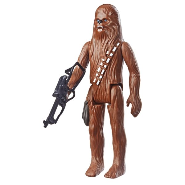 CHEWBACCA FIGURINE STAR WARS EPISODE IV RETRO COLLECTION WAVE 1 HASBRO 10 CM (2) 5010993606450 kingdom-figurine.fr