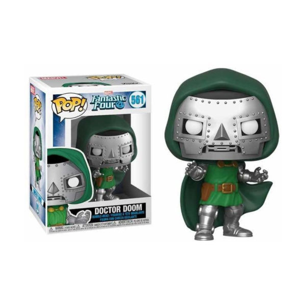 DOCTOR DOOM FIGURINE POP FANTASTIC FOUR MARVEL 561 FUNKO (2) 889698449915 kingdom-figurine.fr