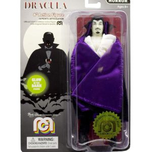 DRACULA GLOW IN THE DARK FIGURINE DRACULA MEGO 20 CM 850003511719 kingdom-figurine.fr