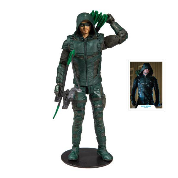 GREEN ARROW FIGURINE ARROW TV SERIES McFARLANE TOYS 18 CM (2) 787926151121 kingdom-figurine.fr