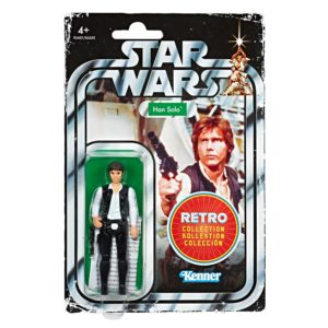 HAN SOLO FIGURINE STAR WARS EPISODE IV RETRO COLLECTION WAVE 1 HASBRO 10 CM (1) 5010993606467 kingdom-figurine.fr