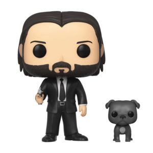 JOHN WICK WITH DOG FIGURINE POP MOVIE JOHN WICK FUNKO 580 889698472388 kingdom-figurine.fr