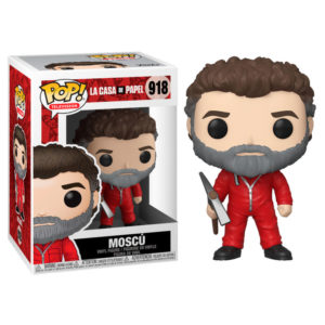 MOSCOU FIGURINE LA CASA DE PAPEL FUNKO POP TV 918 889698445788 kingdom-figurine.fr
