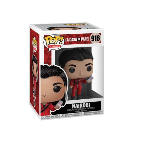 NAIROBI FIGURINE LA CASA DE PAPEL FUNKO POP TV 916 (3) 889698441971 kingdom-figurine.fr
