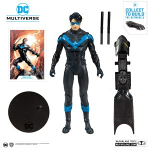 NIGHTWING FIGURINE DC REBIRTH BETTER THAN BATMAN McFARLANE TOYS 18 CM (1) 787926154023 kingdom-figurine.fr