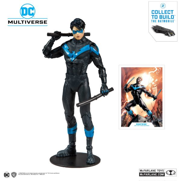 NIGHTWING FIGURINE DC REBIRTH BETTER THAN BATMAN McFARLANE TOYS 18 CM (2) 787926154023 kingdom-figurine.fr