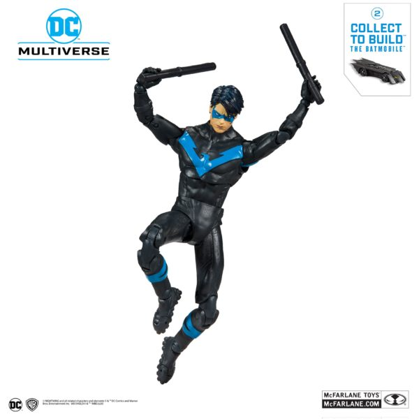 NIGHTWING FIGURINE DC REBIRTH BETTER THAN BATMAN McFARLANE TOYS 18 CM (6) 787926154023 kingdom-figurine.fr