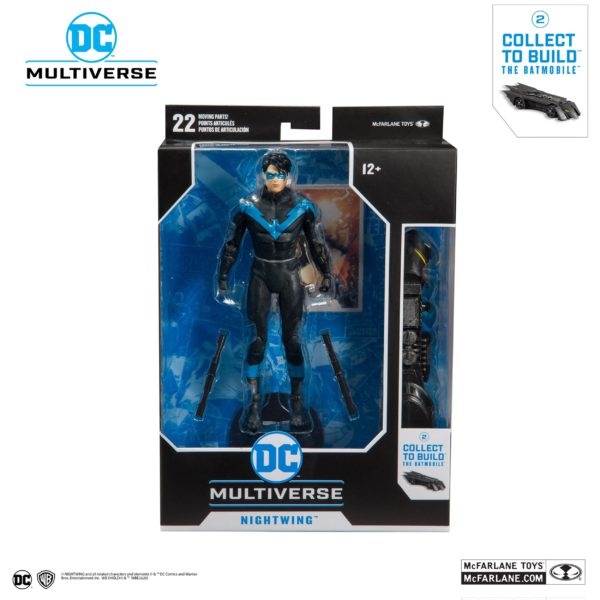 NIGHTWING FIGURINE DC REBIRTH BETTER THAN BATMAN McFARLANE TOYS 18 CM (7) 787926154023 kingdom-figurine.fr