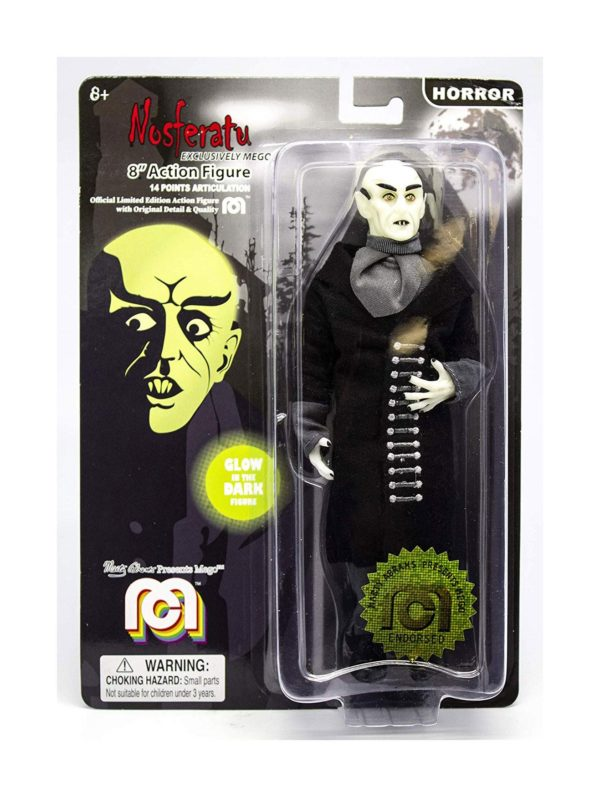 NOSFERATU GLOW IN THE DARK FIGURINE NOSFERATU MEGO 20 CM (1) 850003511757 kingdom-figurine.fr