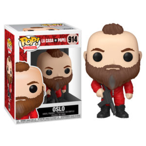 OSLO FIGURINE LA CASA DE PAPEL FUNKO POP TV 914 889698441957 kingdom-figurine.fr