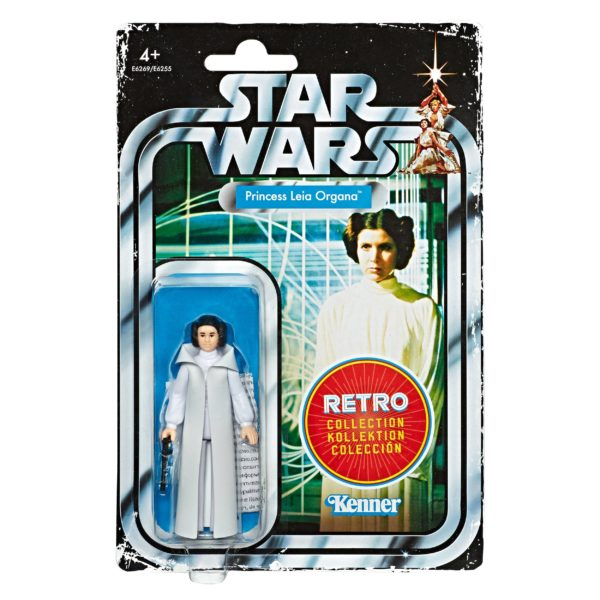PRINCESS LEIA ORGANA FIGURINE STAR WARS EPISODE IV RETRO COLLECTION WAVE 1 HASBRO 10 CM (1) 5010993606443 kingdom-figurine.fr