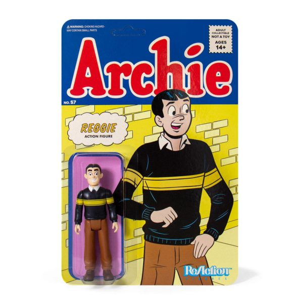 REGGIE FIGURINE ARCHIE COMICS WAVE 1 ReACTION SUPER7 10 CM 811169038694 kingdom-figurine.fr