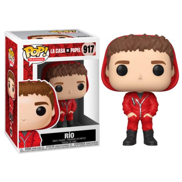 RIO FIGURINE LA CASA DE PAPEL FUNKO POP TV 917 889698441988 kingdom-figurine.fr