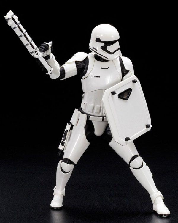 STORMTROOPER FN-2187 STATUETTE 1-10 PVC ARTFX+ STAR WARS EPISODE VII KOTOBUKIYA 19 CM (4) 4934054903306 kingdom-figurine.fr