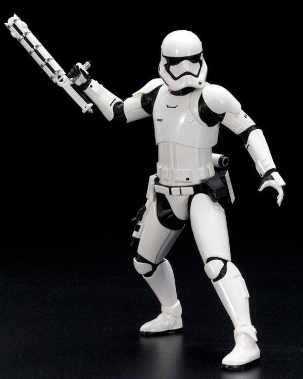 STORMTROOPER FN-2187 STATUETTE 1-10 PVC ARTFX+ STAR WARS EPISODE VII KOTOBUKIYA 19 CM (6) 4934054903306 kingdom-figurine.fr