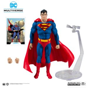 SUPERMAN FIGURINE ACTION COMICS #1000 DC REBIRTH McFARLANE TOYS 18 CM (1) 787926150025 kingdom-figurine.fr