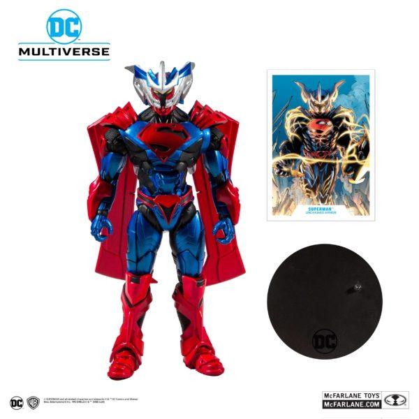 SUPERMAN UNCHAINED ARMOR FIGURINE SUPERMAN UNCHAINED McFARLANE TOYS 18 CM (1) 787926156027 kingdom-figurine.fr