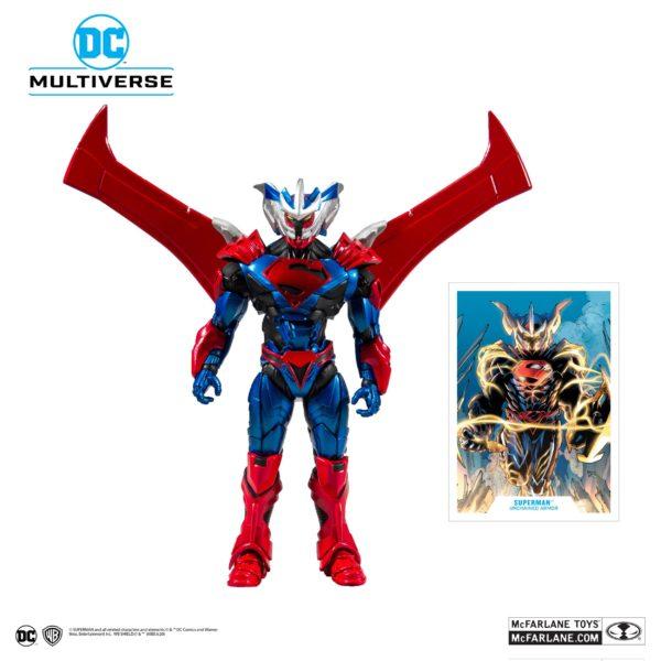 SUPERMAN UNCHAINED ARMOR FIGURINE SUPERMAN UNCHAINED McFARLANE TOYS 18 CM (2) 787926156027 kingdom-figurine.fr