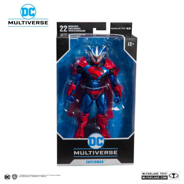 SUPERMAN UNCHAINED ARMOR FIGURINE SUPERMAN UNCHAINED McFARLANE TOYS 18 CM (7) 787926156027 kingdom-figurine.fr