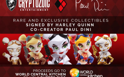 Cryptozoic : 5 statues Harley Quinn aux enchères