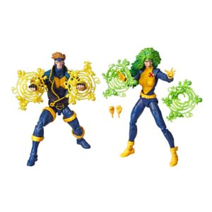 HAVOK & POLARIS PACK 2 FIGURINES X-MEN MARVEL 80TH ANNIVERSARY HASBRO 15 CM (1) 5010993654246 kingdom-figurine.fr