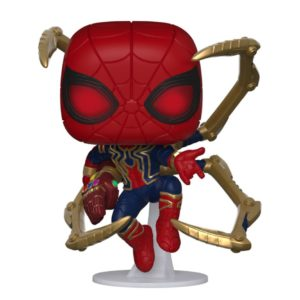 IRON SPIDER WITH NANO GAUNTLET FIGURINE POP MARVEL AVENGERS ENDGAME FUNKO 574 (1) 889698451383 kingdom-figurine.fr