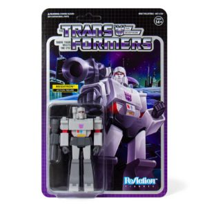 MEGATRON FIGURINE TRANSFORMERS WAVE 1 RE-ACTION SUPER7 10 CM 840049800458 kingdom-figurine.fr