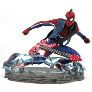 SPIDER-MAN PUNK STATUETTE MARVEL VIDEO GAMES GALLERY DIAMOND SELECT 18 CM (0) 699788834121 kingdom-figurine.fr