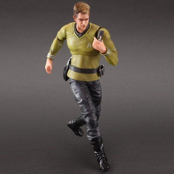 CAPTAIN JAMES T. KIRK FIGURINE STAR TREK MOVIE PLAY ARTS KAI SQUARE ENIX 26 CM (2) 4988601320016 kingdom-figurine.fr