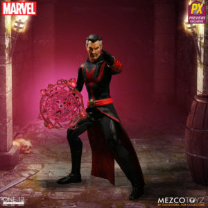 DEFENDERS DOCTOR STRANGE PREVIEWS EXCLUSIVE FIGURINE 1-12 MARVEL MEZCO 15 CM (3) 696198767070 kingdom-figurine.fr