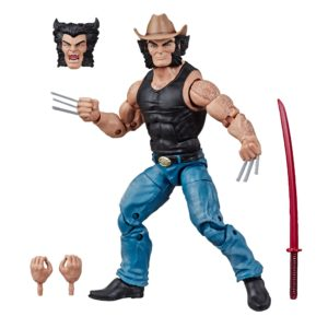 LOGAN FIGURINE FIGURINE X-MEN MARVEL LEGENDS 80TH ANNIVERSARY HASBRO 15 CM (1) 5010993647262 kingdom-figurine.fr