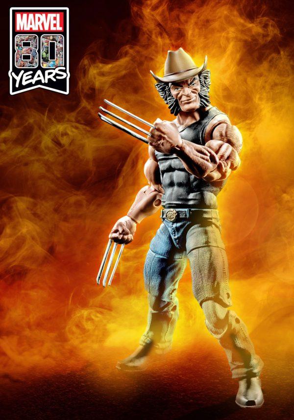 LOGAN FIGURINE FIGURINE X-MEN MARVEL LEGENDS 80TH ANNIVERSARY HASBRO 15 CM (3) 5010993647262 kingdom-figurine.fr
