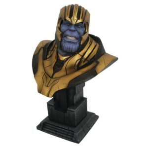 THANOS BUSTE 1-2 AVENGERS INFINITY WAR LEGENDS IN 3D DIAMOND SELECT TOYS 28 CM (1) 699788836576 kingdom-figurine.fr
