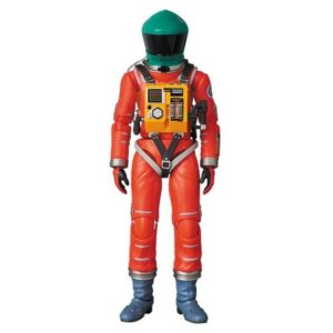 2001, L'ODYSSÉE DE L'ESPACE FIGURINE MAF EX SPACE SUIT ORANGE & GREEN HELMET MEDICOM 16 CM 4530956471105 kingdom-figurine.fr