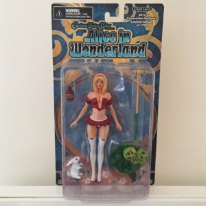 ALICE IN WONDERLAND FIGURINE GRIMM FAIRY TALES CONVENTION EXCLUSIVE ZENESCOPE 15 CM (1) 713757878111 kingdom-figurine.fr
