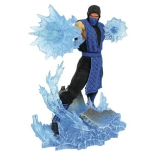 SUB-ZERO STATUETTE MORTAL KOMBAT GALLERY DIAMOND SELECT 23 CM 699788837580 kingdom-figurine.fr