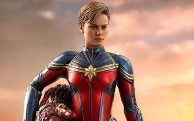Captain Marvel : une nouvelle figurine Hot Toys