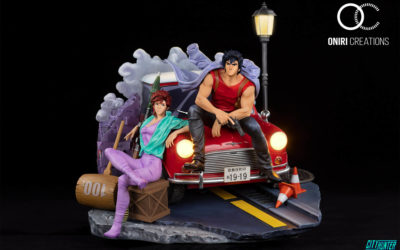 City Hunter : 35 ans et une sculpturale statue Oniri